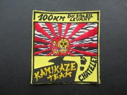 ECUSSON TISSUS (M1808) CHATELET (1 Vue) KAMIKAZE TEAM 100 Km Du Soleil Levant Années 80 - Sports