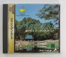 Sega Saturn Japanese : Masters: Harukanaru Augusta 3 T-11401G - Sega