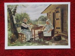 V. Makovsky - Making Jam - Peintures & Tableaux