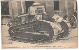 POSTAL   MUSÉE DE L'ARMÉE -CHAR D'ASSAUT RENAULT AVEC CANON DE 37 Mm. - Autres