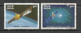 INDIA 2000 - INDIA'S SPACE PROGRAMMA - CPL. SET - USED OBLITERE GESTEMPELT USADO - Space