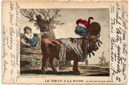 Le Boeuf A La Mode  - Moulin  (104515) - Illustrateurs & Photographes
