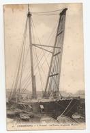 50 Cherbourg, L'arsenal, Le Ponton De Grande Mature. Carte Inédite (859) - Cherbourg