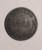 TOKEN JETON GETTONE PRINCE EDWARD'S ISLAND 1855 SELF GOVERNMENT AND FREE TRADE - Monetari/ Di Necessità