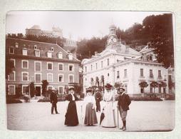 Chateau D Uriage C.1900 - Photo  Bords Collés Sur Carton - Foto's