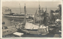 LOVRAN LAURANA PORTO ISTRA ISTRIA HRVATSKA CROATIA, PC, Circulated 1925 - Croatia