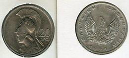Grèce Greece 20 Drachmai 1973 KM 112 - Griekenland