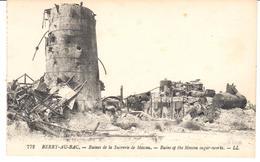 POSTAL   BERRY-AU-BAC  -FRANCIA  - RUINES DE LA SUCRERIE DE MOSCOU - Laon
