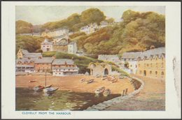 Clovelly From The Harbour, Devon, C.1930 - Photochrom Postcard - Clovelly