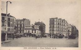 Asnieres Sur Seine : Place Voltaire - Asnieres Sur Seine