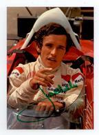 1970 /76 CARTE DEDICACE AUTOGRAPHE ORIGINAL JACKY ICKX F1 FORMULE 1 TBE - Automovilismo - F1