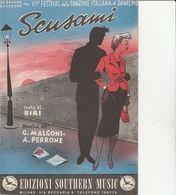 DOC3) SPARTITO VII FESTIVAL SCUSAMI SANREMO NATALINO OTTO 1957 - Spartiti