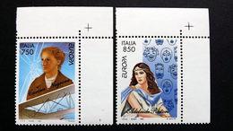 Italien 2432/3 **/mnh, EUROPA/CEPT 1996, Berühmte Frauen - 1991-00: Ungebraucht