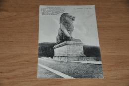 1077- La Gileppe, Le Lion - 1907 - Gileppe (Stuwdam)