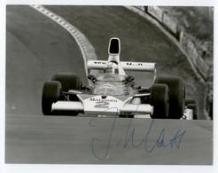1970 /76 PHOTO DEDICACE AUTOGRAPHE ORIGINAL JOCHEN MASS F1 FORMULE 1 TBE - Car Racing - F1
