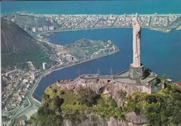 BRASIL  TURISTO--RIO DE JANEIRO--vista Aéréa Do Corcovado Com--voir 2 Scans - Brazil