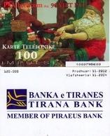 TARJETA TELEFONICA DE ALBANIA. 11.2002 (020) - Albania