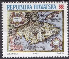 KROATIEN, 1993, 254, Eingliederung Von Istrien, Rijeka, Zadar,  MNH **, - Croacia