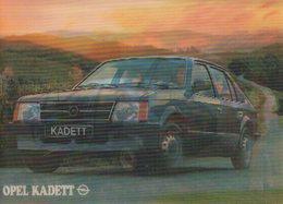 OPEL Kadett D - Hologrammkarte - PKW
