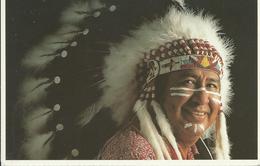 NATIVE INDIAN CHIEF - Indiens De L'Amerique Du Nord