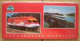 1 Pochette 4 Télécartes Neuves Trains Locomotives AUSTRALIE Tirage Limité 0270/1500, PayTel Australia Pty Ltd 2000 - Australia