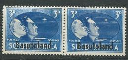 Basoutoland    - Yvert N°   31 Et 34  *  Se Tenant       - Pa12508 - 1933-1964 Crown Colony