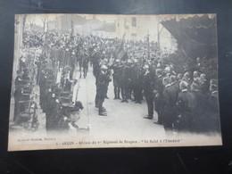 Lucon  1914    1 Er Régiment De Dragons  Le Salut à L'étendard - Lucon