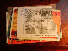 15949) CALCIO FOOTBALL JUVENTUS BAYER LEVERKUSEN CHAMPIONS LEAGUE 2001 - Biglietti D'ingresso