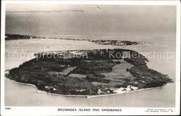 11774920 Brownsea Island And Sandbanks Aerial View Poole - England