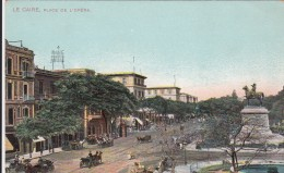 AK -Ägypten - Kairo  - Le Caire - Place De L´ Opera - 1905 - Kairo