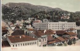 AK - Bos. Herz. - Sarajevo - Mit Franz Josef Kaserne -1905 - Bosnien-Herzegowina
