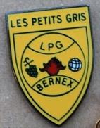 LES PETITS GRIS - LPG - CLUB DE PETANQUE - BERNEX - GENEVE - SUISSE - BOULE - RASINS  -            (ROSE) - Bowls - Pétanque