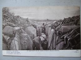 LES APPARTEMENTS DE NOS VAILLANTS SOLDATS  DANS LES TRANCHEES / EDITION PATRIOTIQUE - War 1914-18