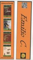 MARQUE PAGE EMILIO C. - EDITIONS DU PISSENLIT - Marque-Pages