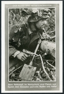 Infanteriewaffen : Beim Nahkampf Sind Pistole Und Spaten Dem Grenadier Wertvolle Waffen, Gutjahr, Bildverlag - Weltkrieg 1939-45