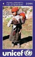 FINLAND 20 MK UNICEF CHILDREN 3000 ONLY !! SAVONLINNAN REGION ONLY USED ED12/97 READ DESCRIPTION !! - Finland