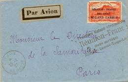 1937 , REUNION , CILAOS - PARIS , YV. AER.1 , PREMIÉRE LIAISON AÉROPOSTALE REUNION - FRANCE PAR AVION ROLAND GARROS - Réunion (1852-1975)