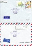 Bosnia & Herzegovina.  2  Covers Sent To Denmark.  H-556 - Bosnia And Herzegovina