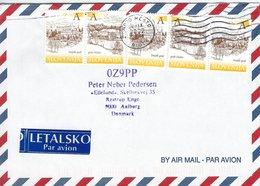 Slovenia.  3  Covers Sent To  Denmark.  H-682 - Slovenia