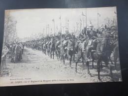 Lucon  1914    1 Er Régiment De Dragons  Défilé à Travers La Ville - Lucon