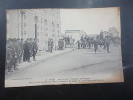 Lucon  1914    1 Er Régiment De Dragons Arrivée Dans Le Quartier Hoche - Lucon