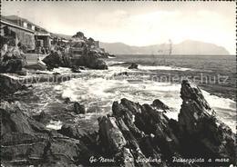 72168496 Nervi La Scogliera Passeggiata A Mare Genova - Italy