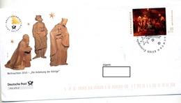 Lettre Cachet Fdc Noel Illustré Epiphanie - [7] République Fédérale