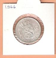 NEDERLAND 1 GULDEN 1966 ZILVER JULIANA PR - [ 3] 1815-… : Royaume Des Pays-Bas