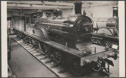 North Eastern Railway 4-4-0 Engine No 1621, C.1970s - Matthews RP Postcard - Trains