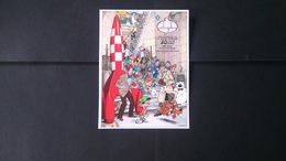 """Tintin - Bd: 20ème Anniversaire Du """"Centre Belge De La Bande Dessinée """" (BL173 Non Dentelé Non Numérôté) - Belgique"""