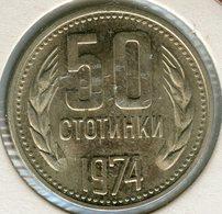 Bulgarie Bulgaria 50 Stotinki 1974 KM 89 - Bulgarije