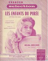 Partition Mélina MERCOURI - LES ENFANTS DU PIREE  - 1960 - Musica & Strumenti