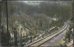 Horse Shoe Tunnel, Great Northern Railway, Washington, 1908 - Trattner Postcard - United States