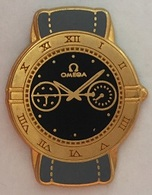 MONTRE SUISSE OMEGA - BRACELET GRIS - FOND NOIR - SWISS MADE SINCE 1848          -     (ROSE) - Trademarks
